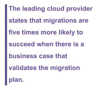 cloud migration project